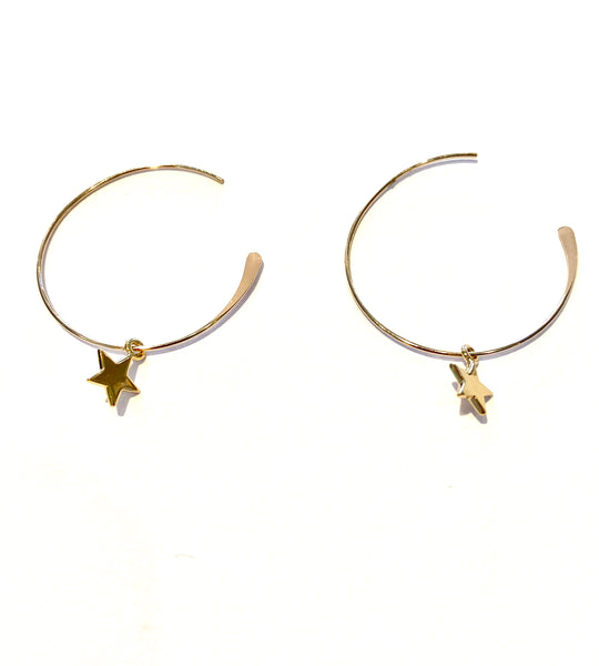 Shooting Star hoop
