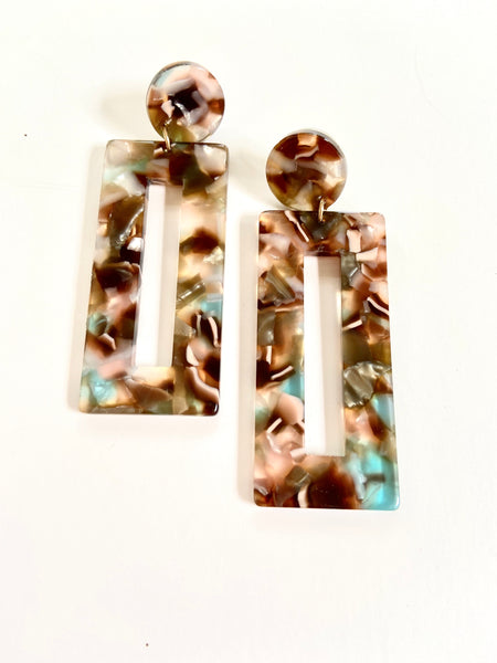 Romantic Resin Earrings