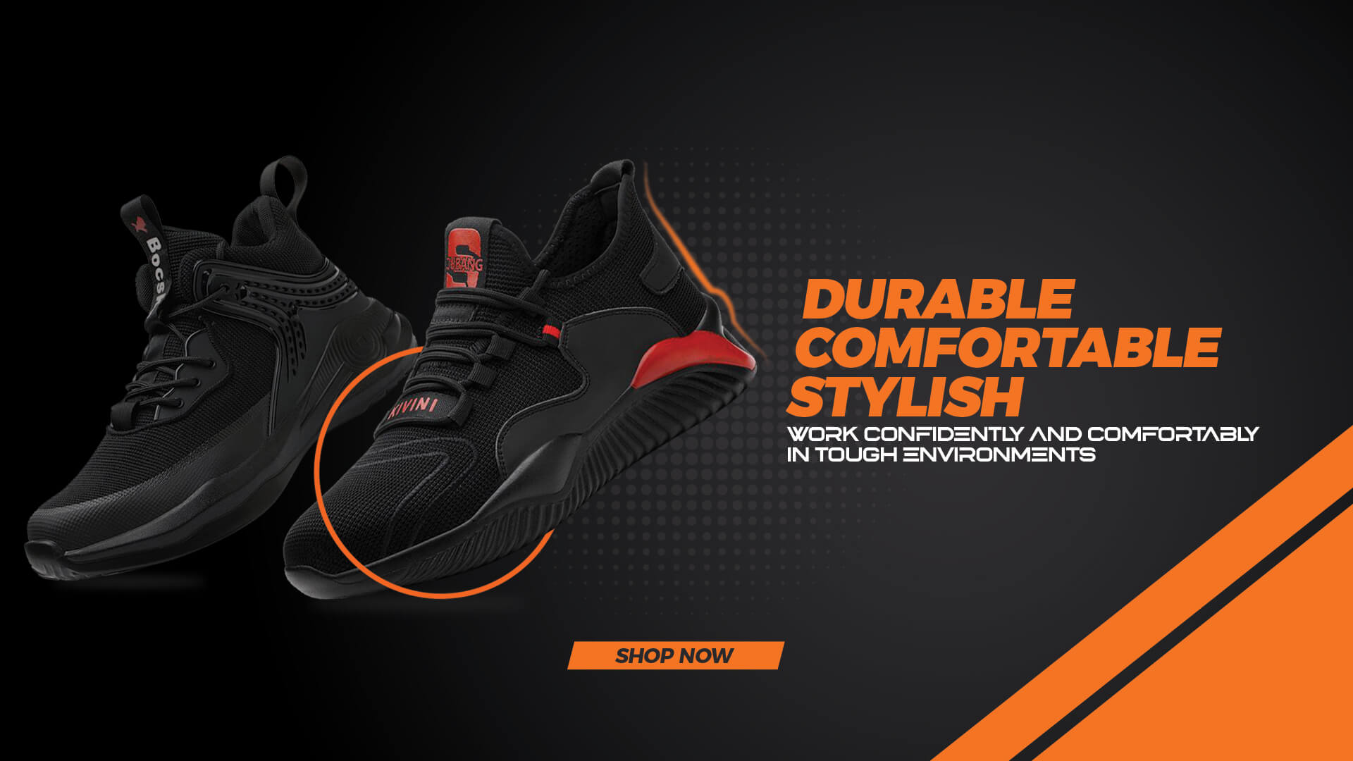 Maven Safety Shoes Are Durable, Comfortable & Stylish