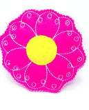 Flower lacing card learn to sew #3884