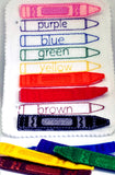 Crayon color matching Quiet book page QB19