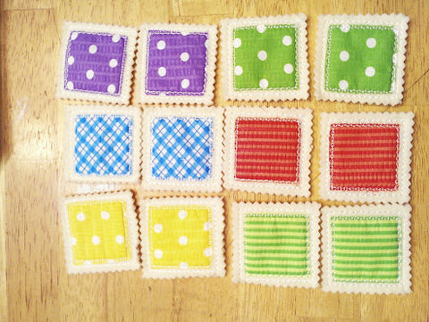 Memory Concentration Game set includes 6 matches