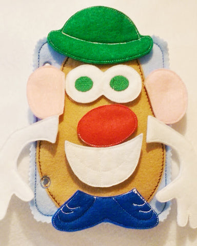 Mr Potato head quiet book page QB5