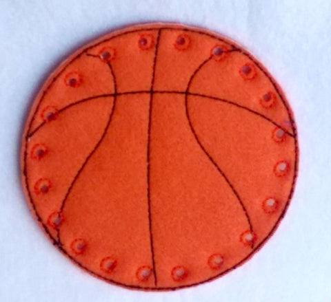 Basketball lacing card