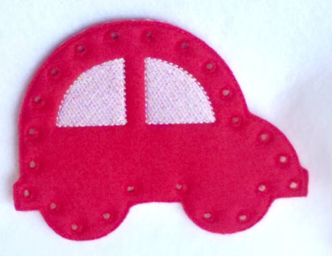 Car lacing card