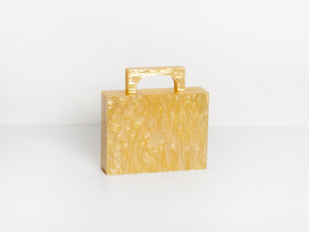 Alexa Bag in Yellow