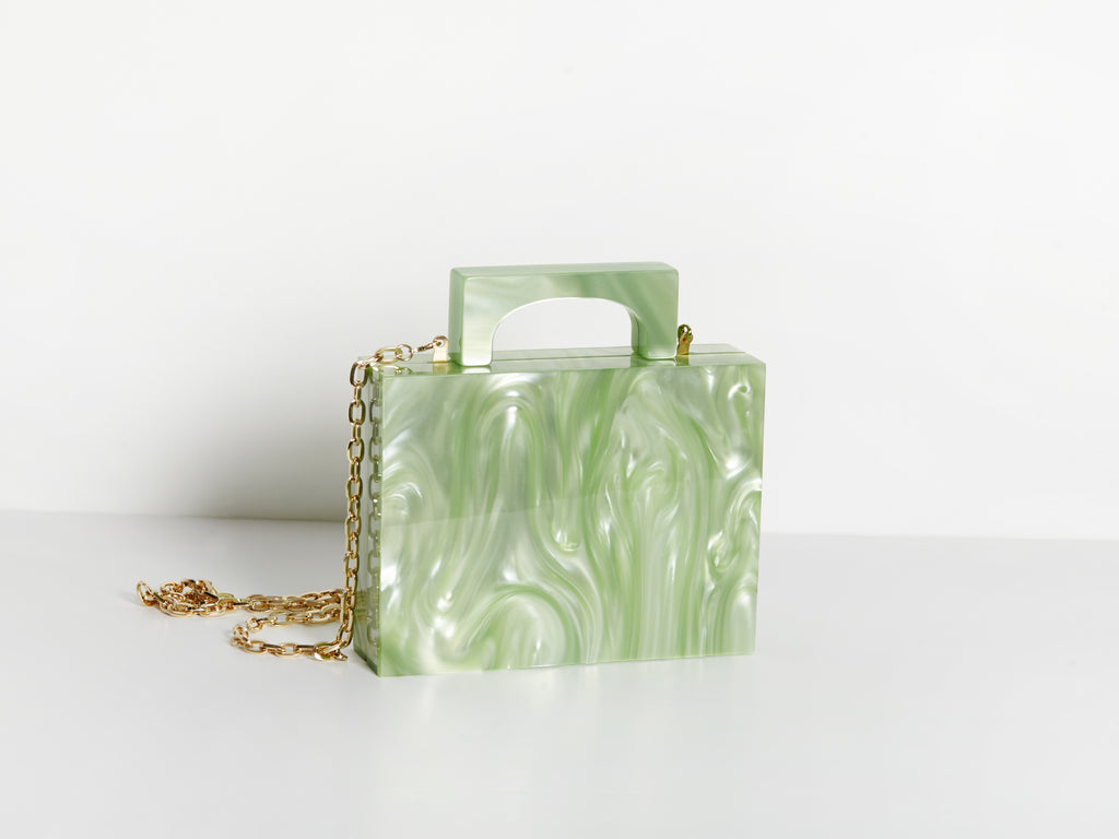 Alexa Bag in Green
