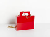 Alexa Bag in Red
