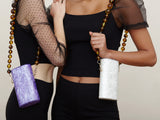 Kimlani Handbag in Purple