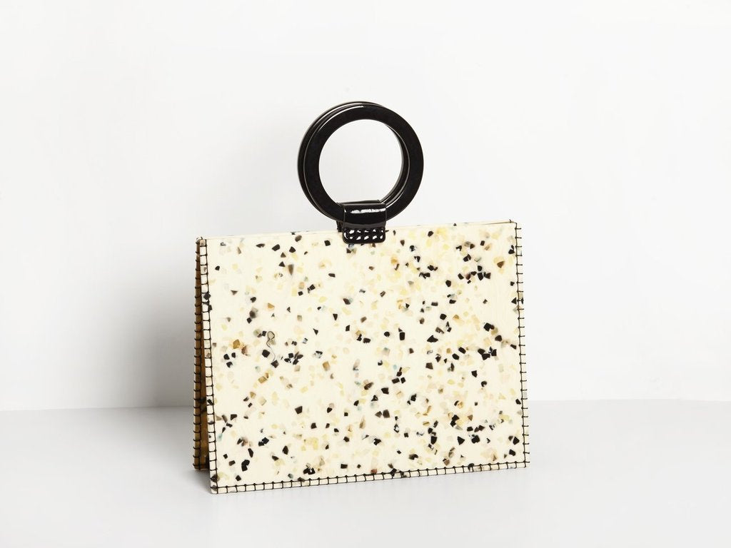 Sienna Bag White Dalmation