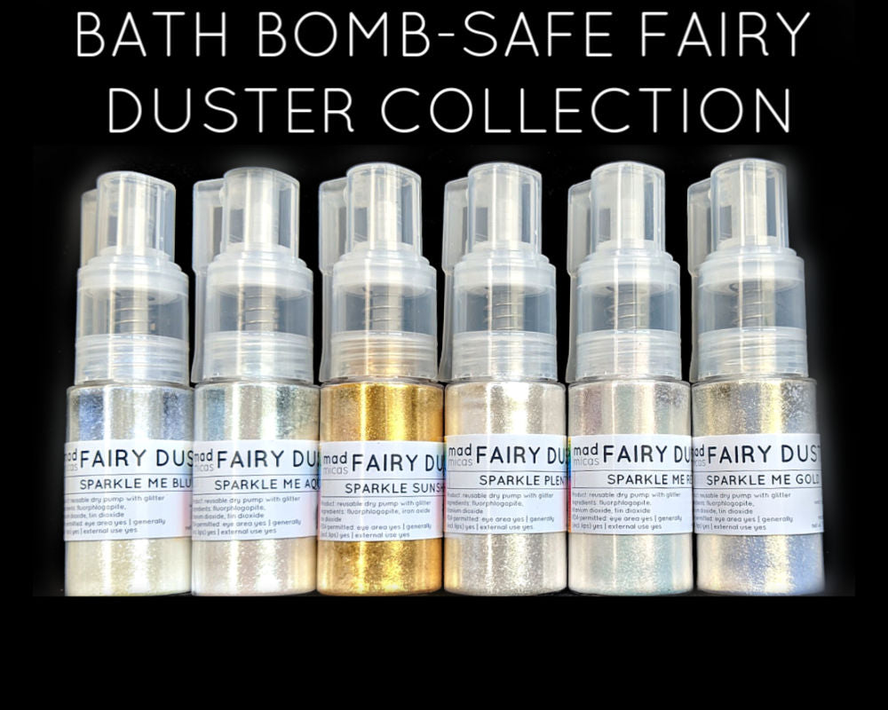 Bath Bomb-safe Glitter Collection
