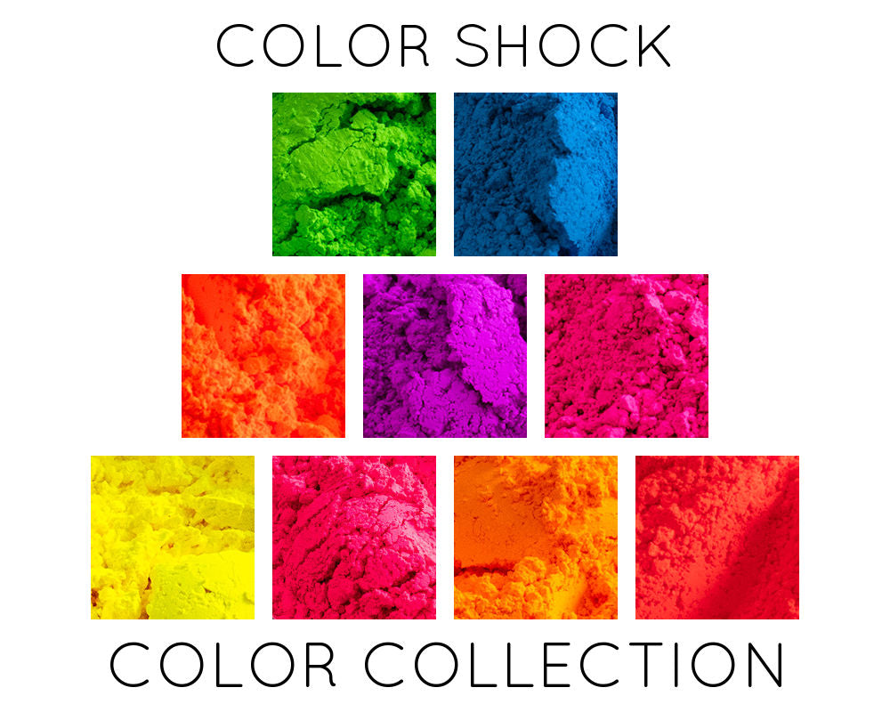 Color Shock Premium Neon Pigment Collection