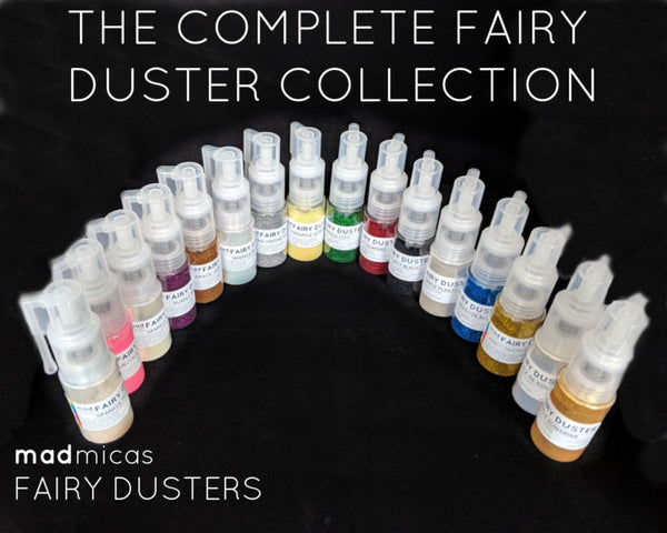 The Complete Fairy Duster Collection - Glitter-filled Glitter Pumps