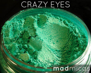 Crazy Eyes Premium Green Mica