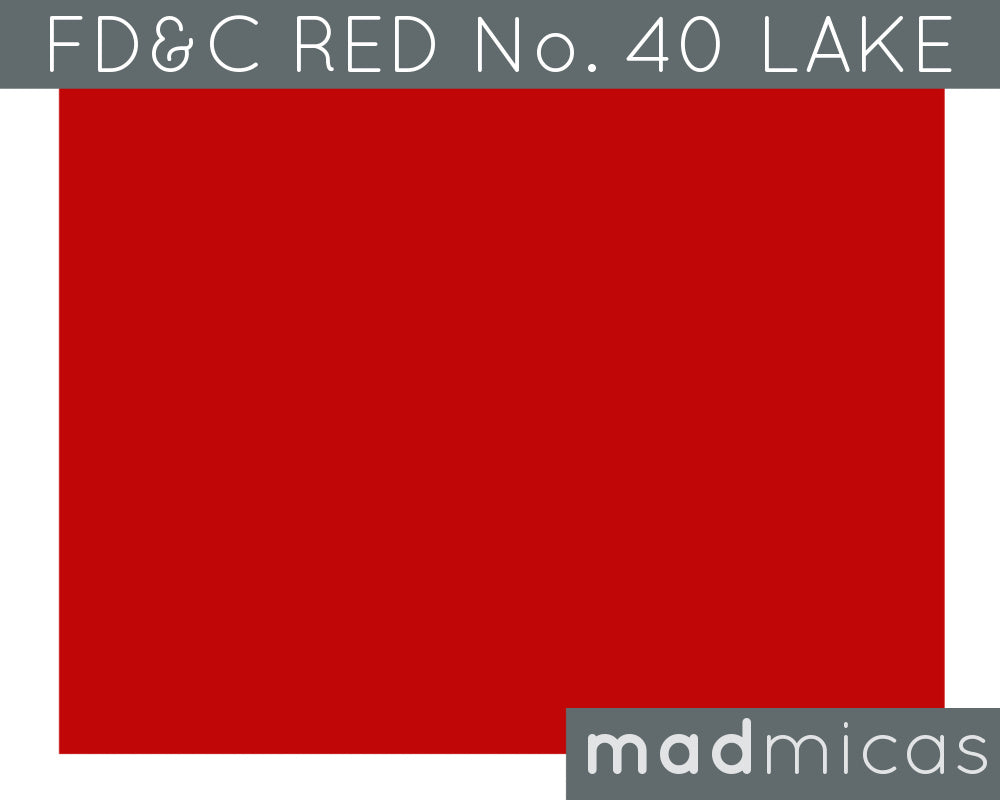 FD&C Red No. 40 Lake