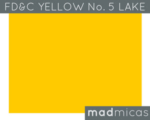 FD&C Yellow No. 5 Lake