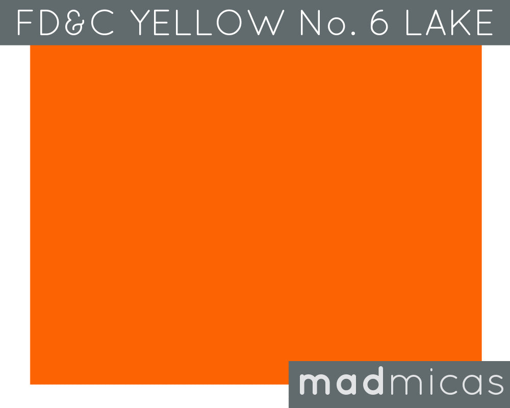 FD&C Yellow No. 6 Lake