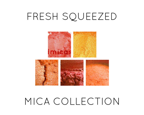 Fresh Squeezed Orange Mica Collection