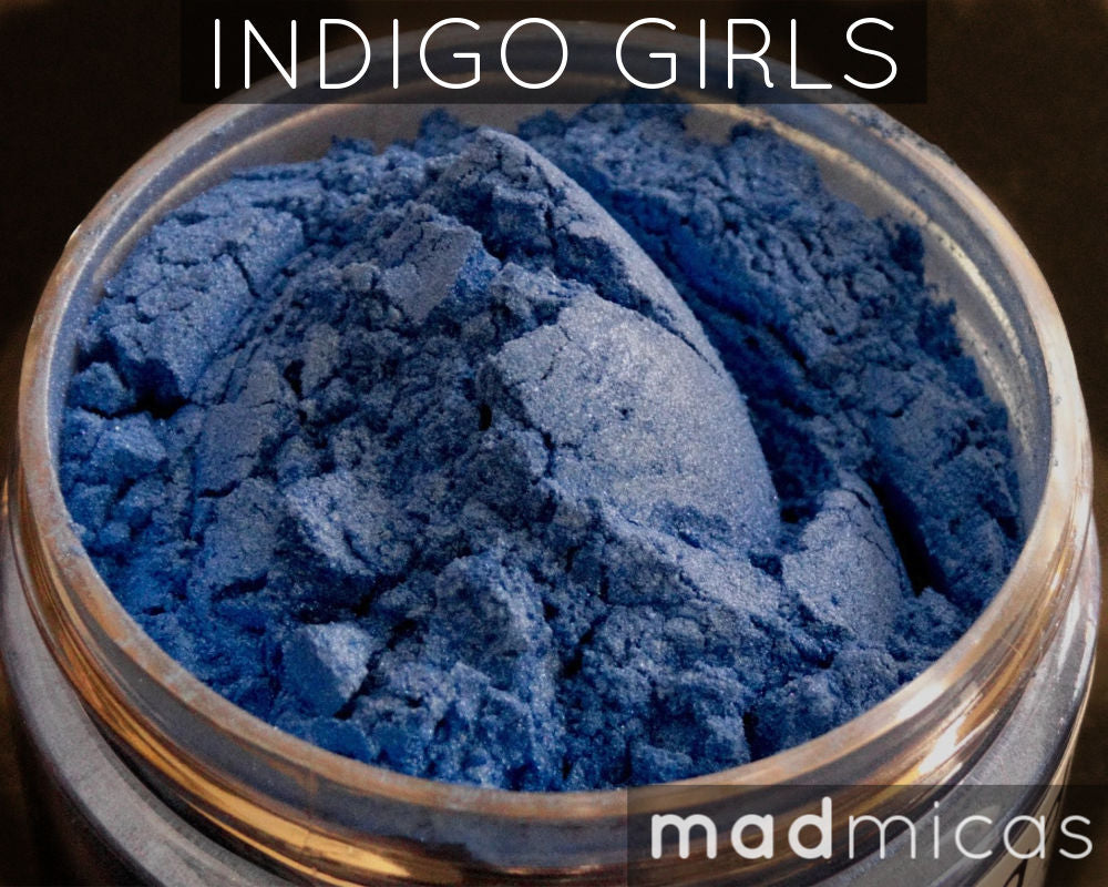 Indigo Girls Premium Blue Mica