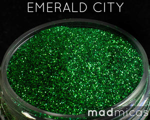 Emerald City Green Glitter