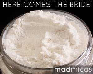 Here Comes The Bride Premium White Mica