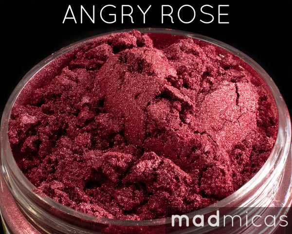 Angry Rose Premium Red Mica