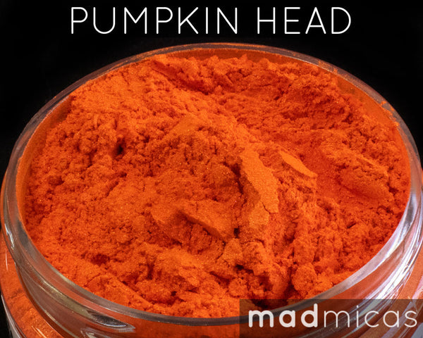 Pumpkin Head Premium Orange Mica