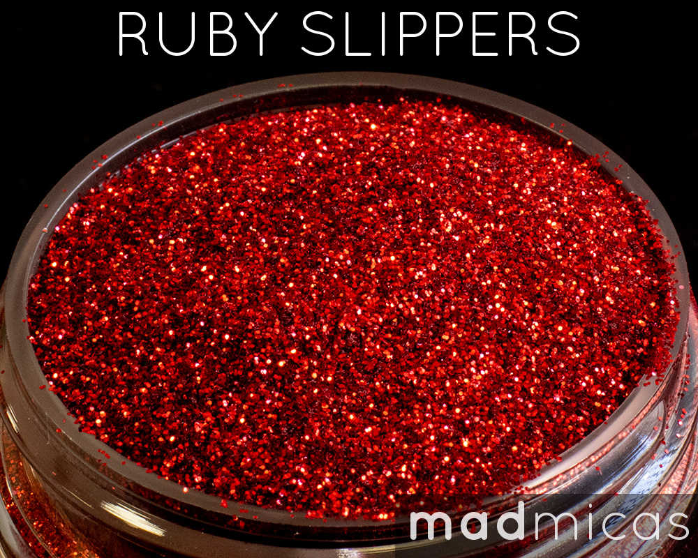Ruby Slippers Premium Red Glitter from Mad Micas