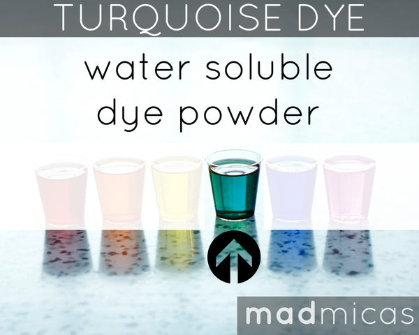 Mad Micas Turquoise Dye