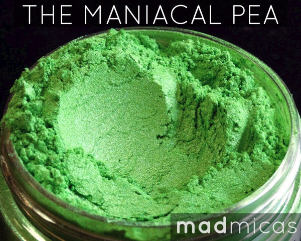 The Maniacal Pea Premium Green Mica