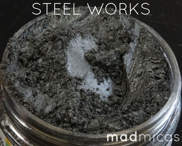Steel Works Premium Dark Grey Mica