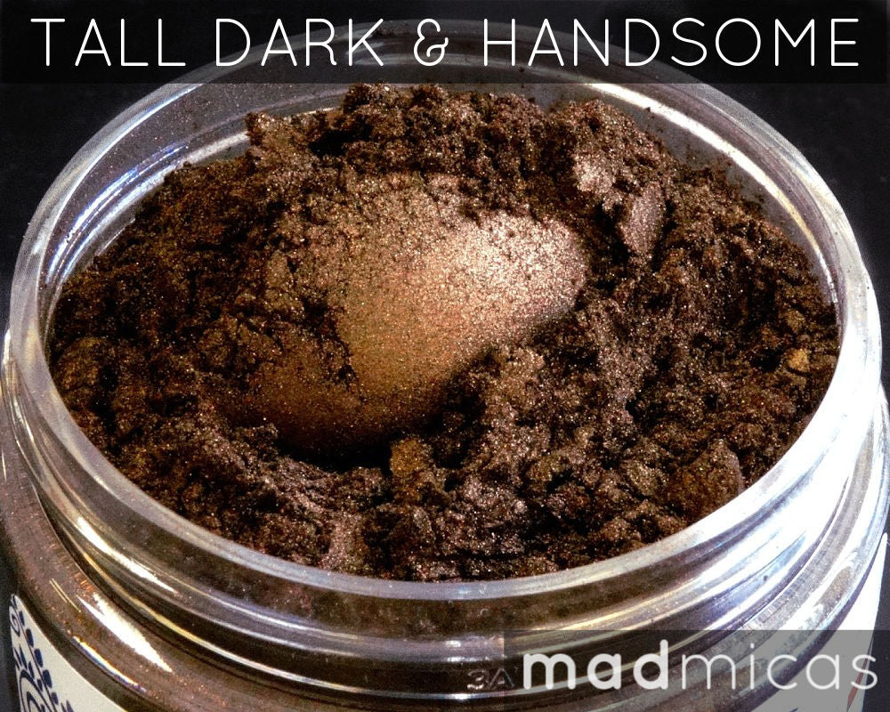 Tall Dark & Handsome Premium Brown Mica