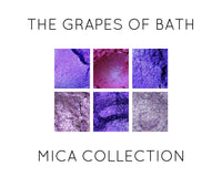 Grapes Of Bath Purple Mica Collection