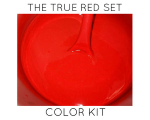True Red Non-Bleeding Pigment Blend