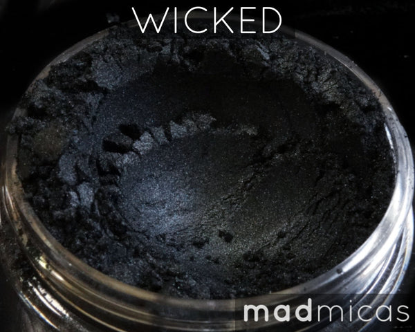 Wicked Cool Dark Grey Black Mica
