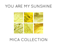 You Are My Sunshine Premium Yellow Mica Collection