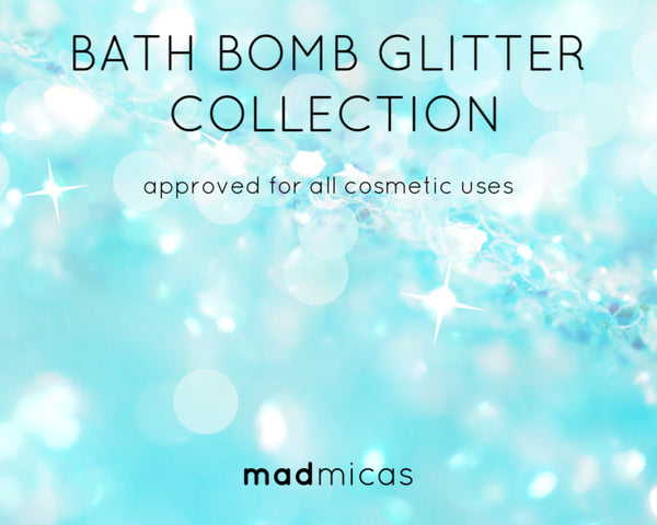 Bath Bomb Glitter Collection