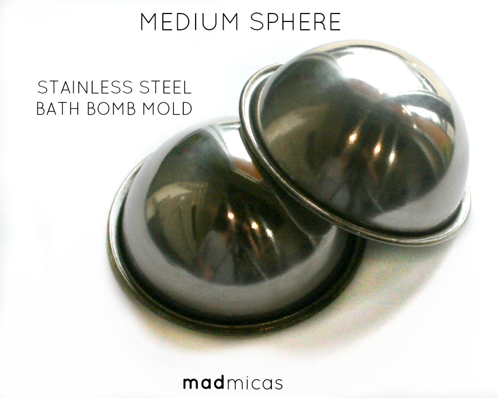 Medium Sphere Stainless Steel Mold