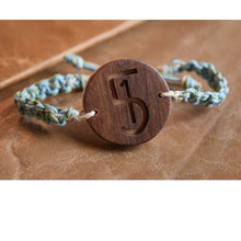 Load image into Gallery viewer, 1-in-5 Wooden Charm Bracelet