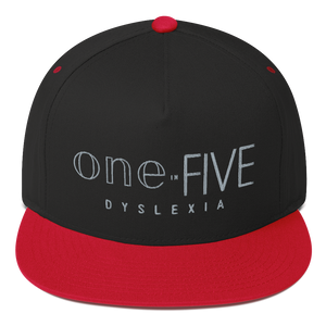 Flat Bill One-in-Five Embroidered Cap
