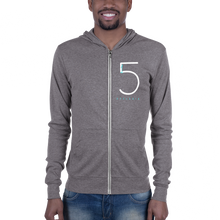 Load image into Gallery viewer, Unisex Adult 1-in-5 Zip Hoodie
