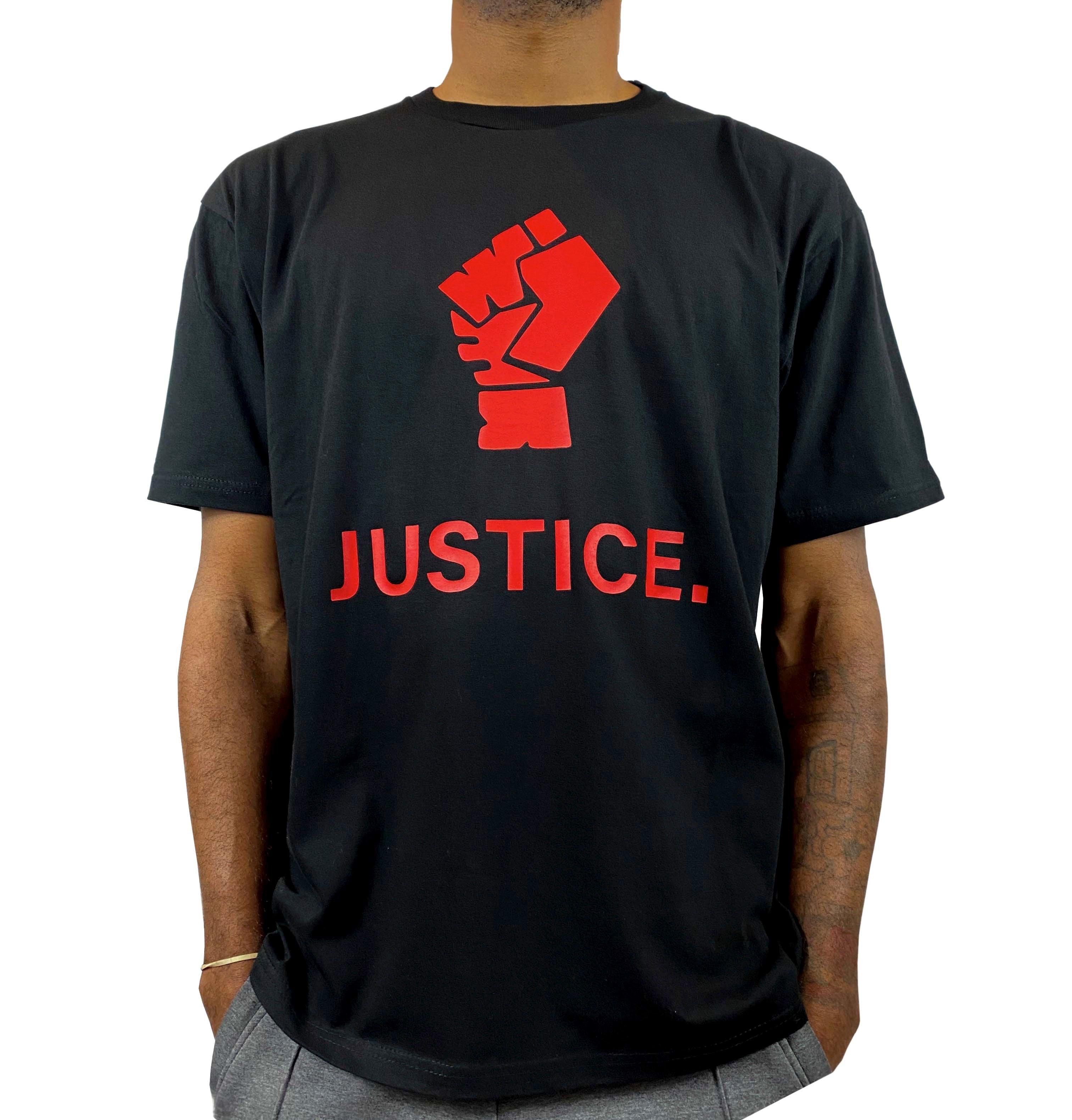JUSTICE. T-SHIRT