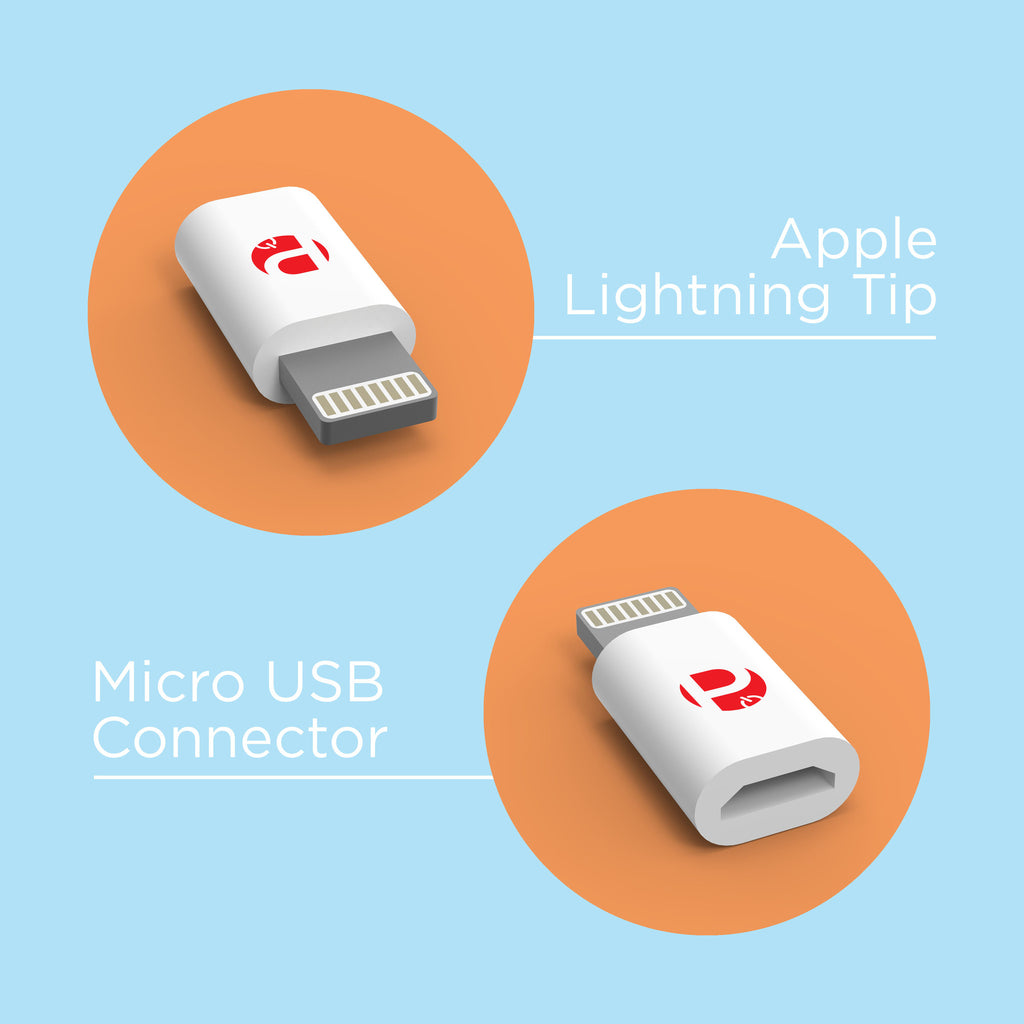 apple lightning tip front and back