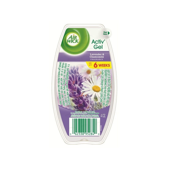 AIR WICK - Active Gel - 4OZ - Lavender & Chamomile - 12pcs/Case