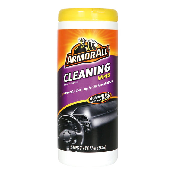 ARMOR ALL - CLEANING WIPES 25CT - CASE