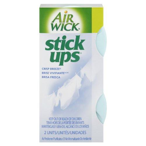 AIR WICK - Stick Ups - Crisp Breeze - 2(Pack) - 12pcs/Case