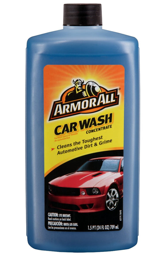 ARMOR ALL - CAR WASH CONCENTRATED 24 OZ - CASE