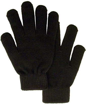 MAGIC GLOVES MEN BLACK - (WINTER) - 24/144 CASE