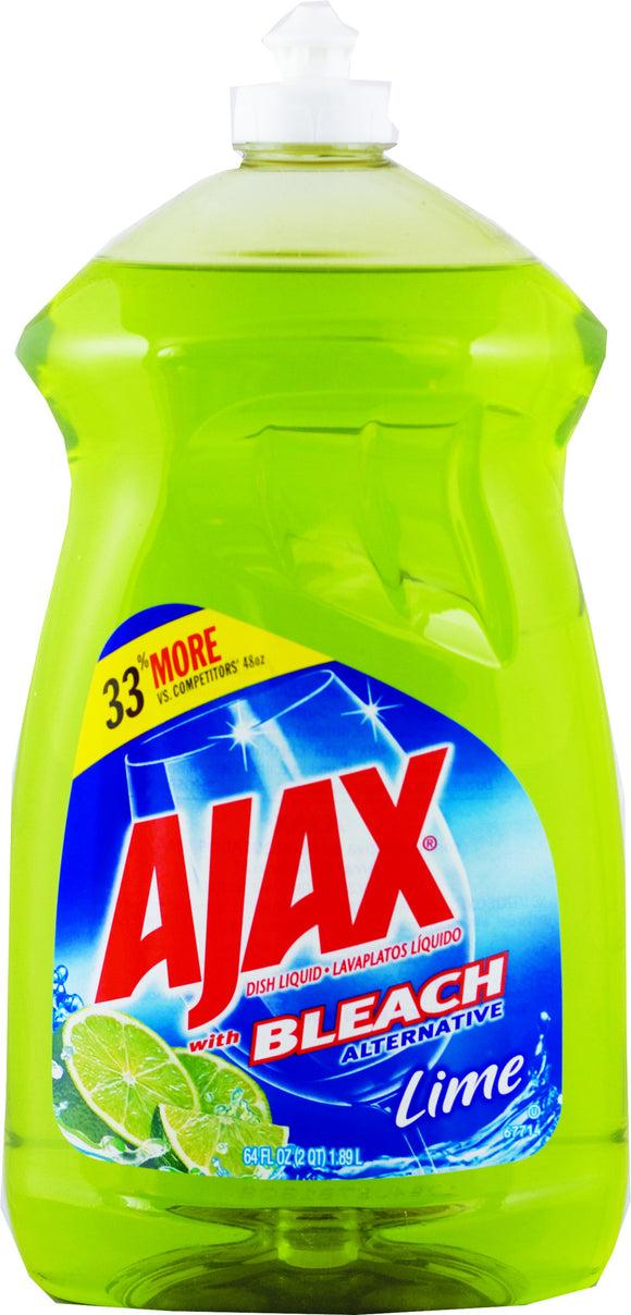 AJAX - DWL - LIME 52 OZ - 6CT/CASE