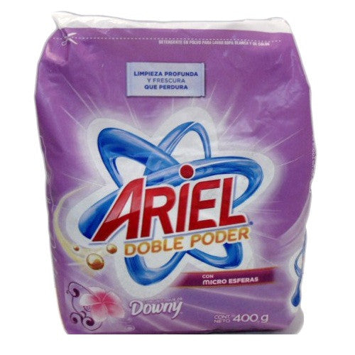 ARIEL W/DOWNY - DETERGENT POWDER 400 G - 30CT/CASE